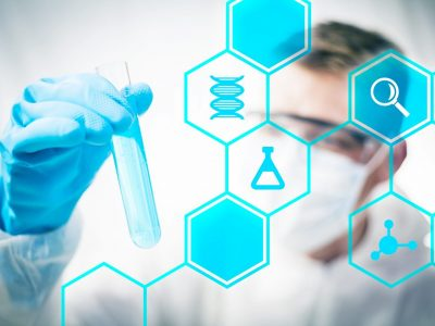 Medical research and chemistry science
